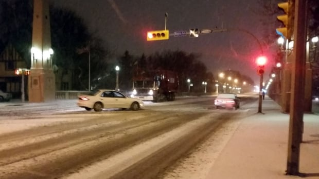 The City of Regina is experimenting with liquid salt to make sand stick to roads during periods of extreme cold.