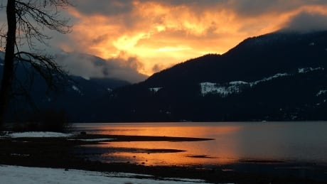 Harrison Lake Sunset