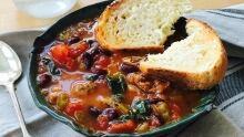 Julie Van Rosendaal's sausage and bean soup