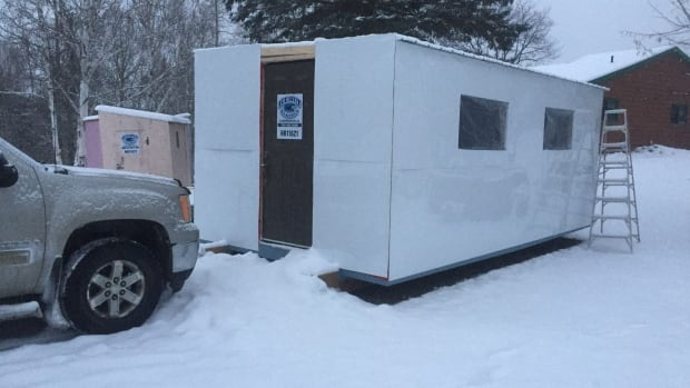 Ice Hut Rentals posted a Kijiji advertisment over the holidays that stated status card users are not welcome.