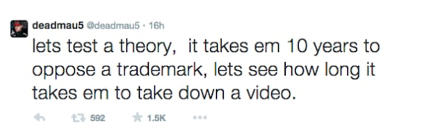 Deadmau5 Tweet