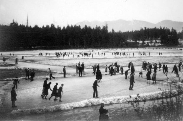 Skating on Lost Lagoon