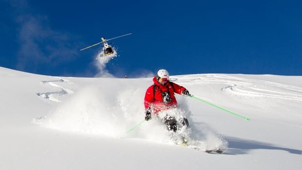 According to its website, Mike Wiegele attracts skiiers from around the world to ski some of B.C.'s deep powder.