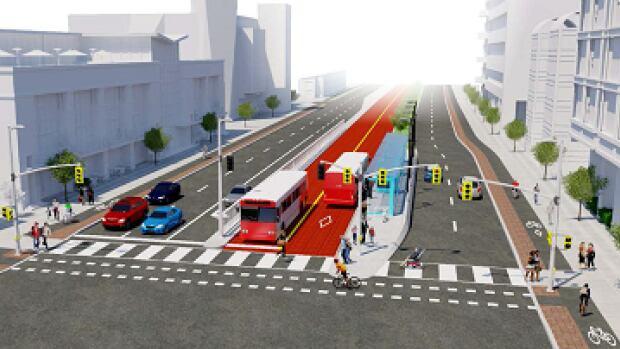 Baseline bus rapid transit corridor design gets council's OK