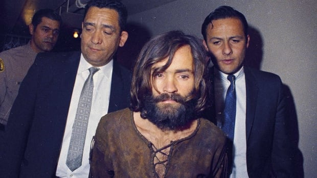Charles Manson was arraigned in Los Angeles on conspiracy-murder charges in connection with killing of actress Sharon Tate and others in late 1969.