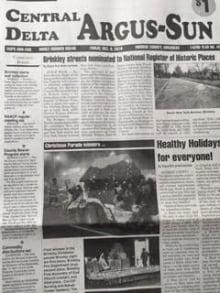 Argus Newspaper