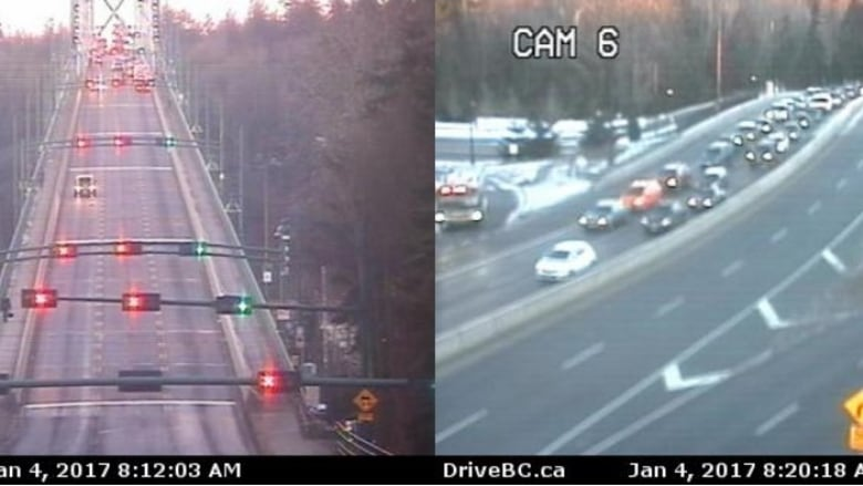 Lions Gate Bridge reopens after police incident   CBC News