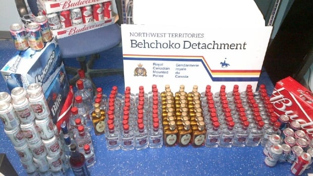 Alcohol seized by RCMP in Behchoko, N.W.T., in January when the community was still dry. The Northern Alcohol Strategy committee last week released 49 recommendations on how alcohol should be sold in La Ronge, about 380 kilometres north of Saskatoon.