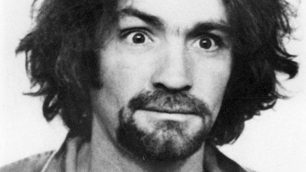 Charles Manson at age 34, when he was described by the Los Angeles Times and attorney Richard Caballero as the leader of a quasi religious cult of hippies, three of whom have been arrested on murder warrants issued in the slayings of actress Sharon Tate and four others at her home.