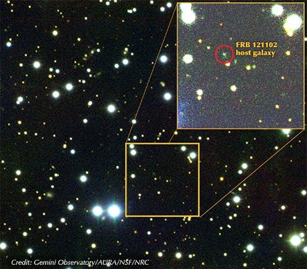 Fast radio burst galaxy