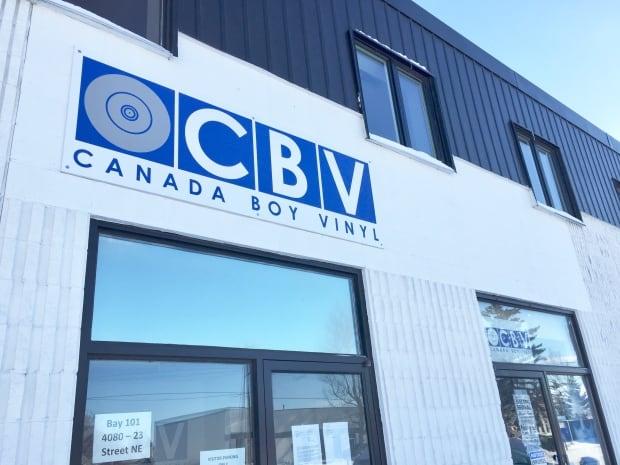 Canada Boy Vinyl building