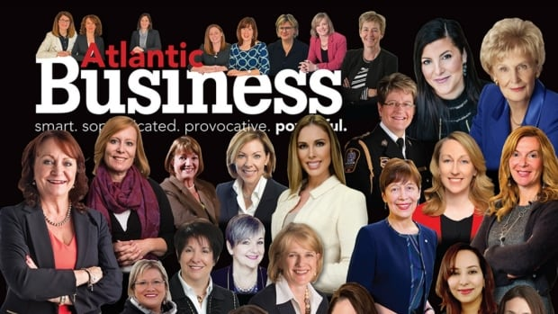 Atlantic Business Magazine's special edition on women in business has an all-female cover.