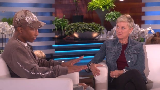 Pharrell Williams and Ellen DeGeneres discuss homophobic comments made by gospel singer Kim Burrell, who had been slated to join Williams to perform, on Thursday's episode of The Ellen Show. Burrell was axed from the appearance over homophobic comments she made.
