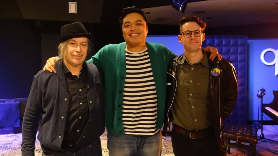 Simply Saucer singer Edgar Breau and writer Jesse Locke join q guest host Chris dela Torre in studio to discuss Locke's new book about the band titled Heavy Metalloid Music.