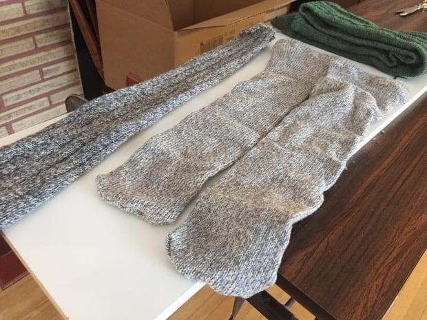 saskatoon socks finished