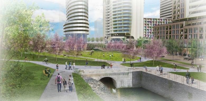 East Flats' plan still too tall, neighbours complain | CBC News