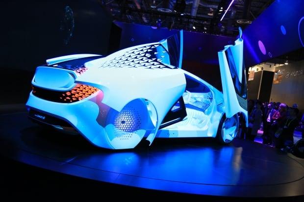 Toyota's Concept-i car CES 2017