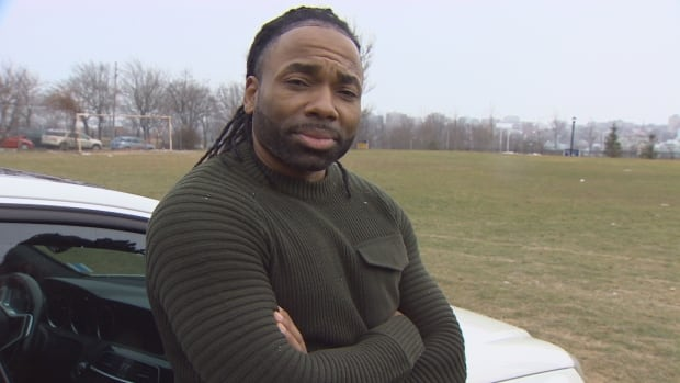 Ashley Taylor, 42, believes he has been unfairly targeted by Halifax police because of his race.