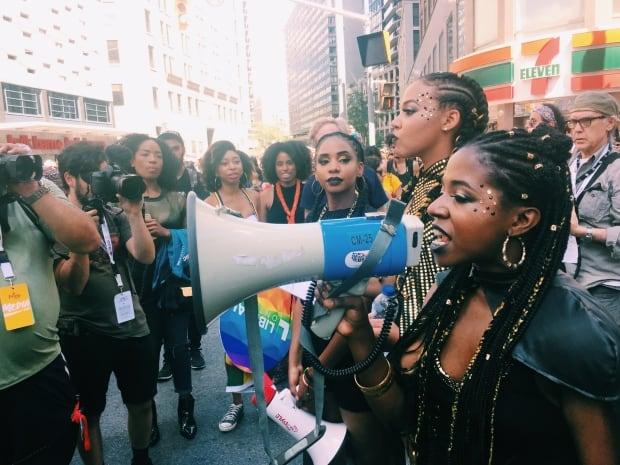 Black Lives Matter Toronto - Pride