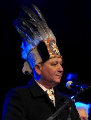 Abegweit Chief Brian Friancis
