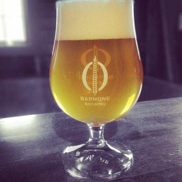 Barnone beer in glass