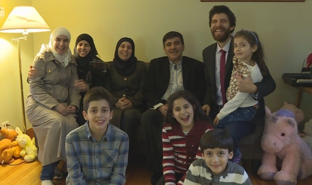 The Hadhads arrived in Antigonish, N.S., a year ago.