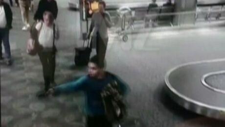florida airport shooting video