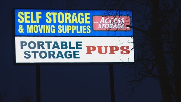 Self storage cat and dog Calgary