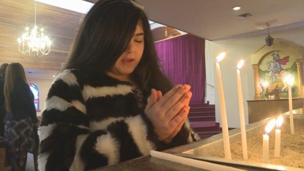 Praying Congregation Member St. Gregory Armenian Church