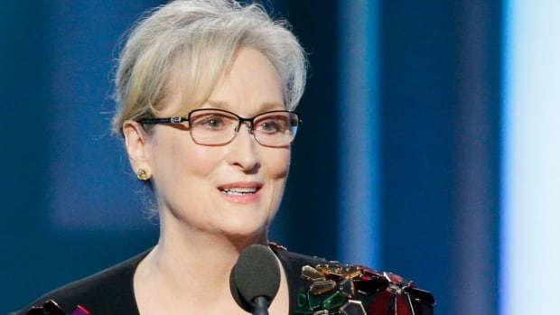 Meryl Streep was given the Cecil B. DeMille Award during the awards. She spent much of her speech speaking out about president-elect Donald Trump.