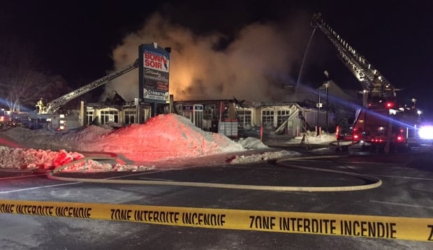 Laval fire
