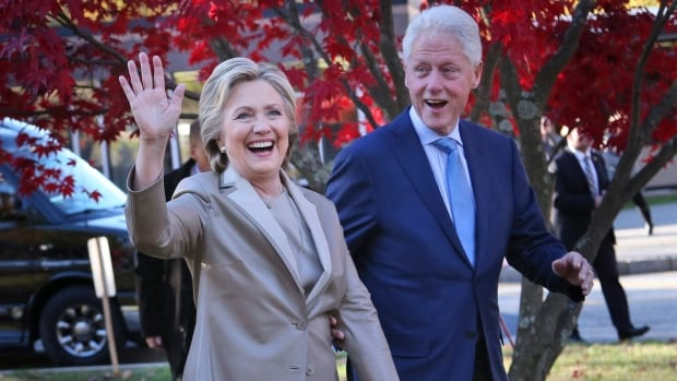 Hillary Clinton and her husband, former president Bill Clinton, will be in the Eastern Townships this weekend.