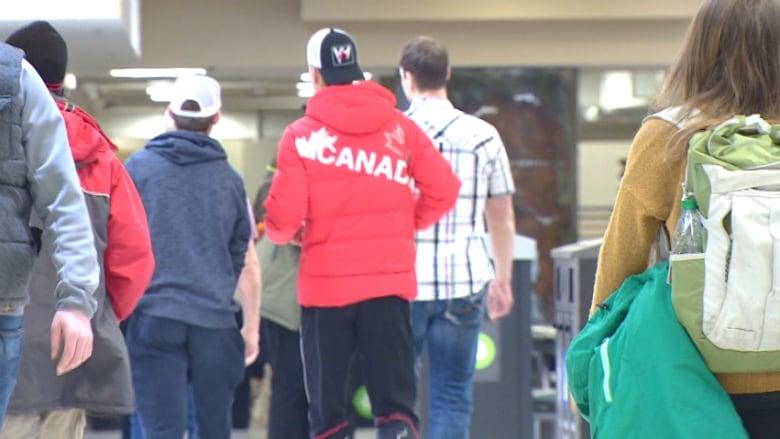 University of Calgary students