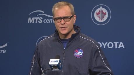 Jets coach Paul Maurice