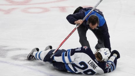 Jets Laine Injury Hockey