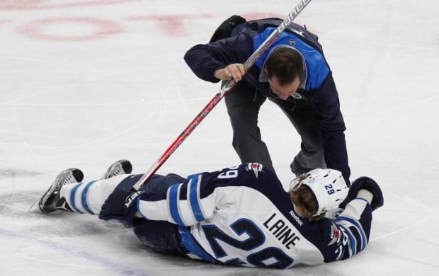 Jets Laine Injury Hockey