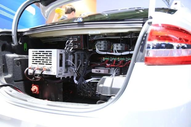 Ford CES 2017 self-driving car autonomous NVIDIA