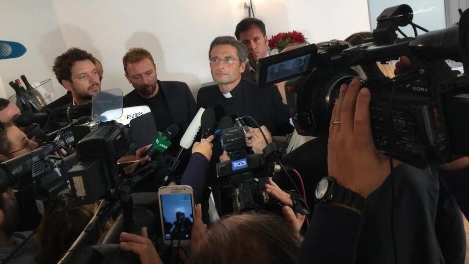 In late 2015, former Vatican priest Krzysztof Charamsa stepped out of the closet at a news conference, with his gay partner by his side.