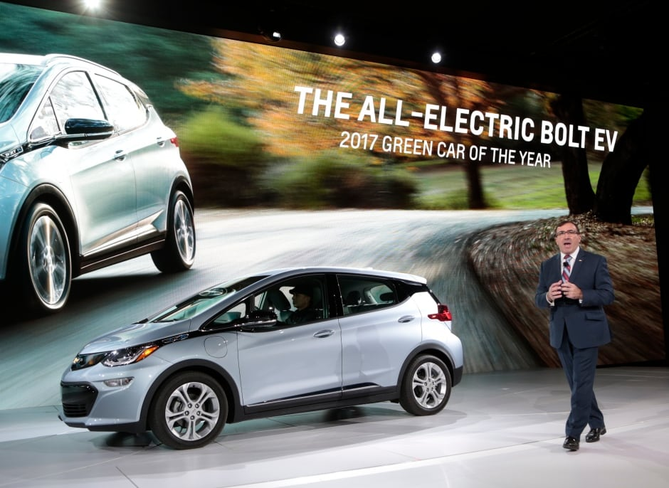 Chevy Bolt Seat Comfort >> 2017 Detroit auto show presents new and electrifying ideas - Technology & Science - CBC News