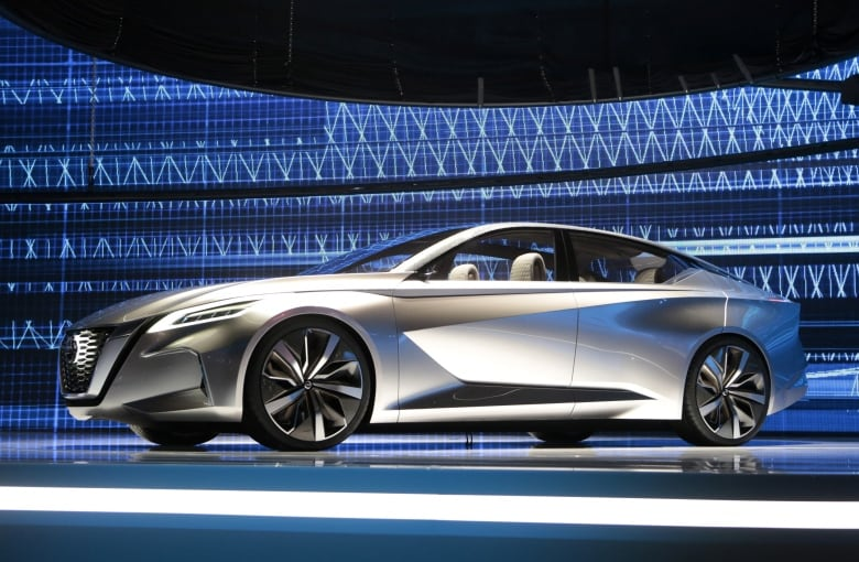 Detroit Auto Show Presents New And Electrifying Ideas CBC News - Auto show usa