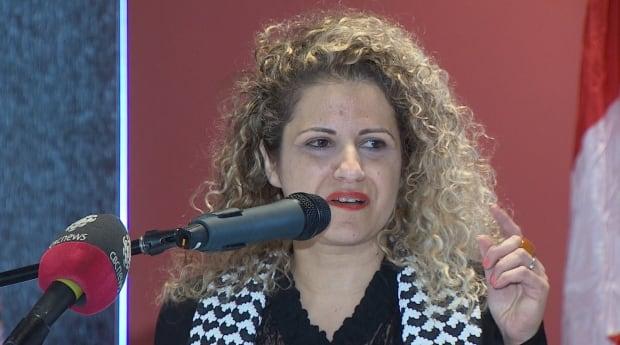 Rima Azar of Mount Allison University