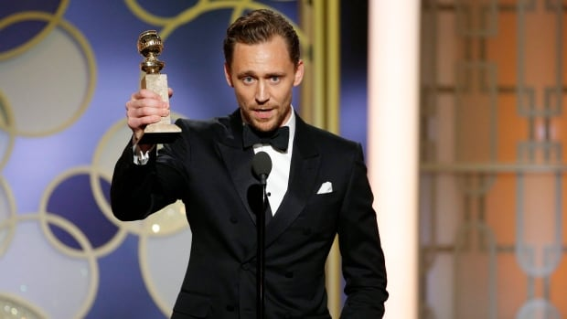 The Night Manager actor Tom Hiddleston is apologizing for a story he told at the Golden Globes ceremony, which he says was meant to be a tribute to aid workers but 'came out wrong.'