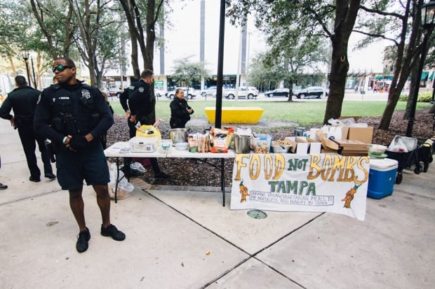 Tampa Food Not Bombs