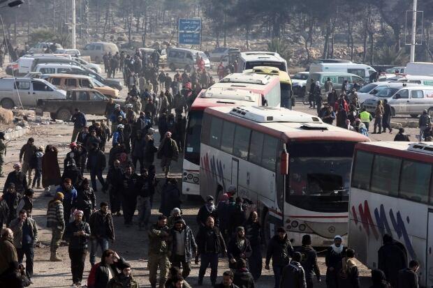 Syrian evacuation