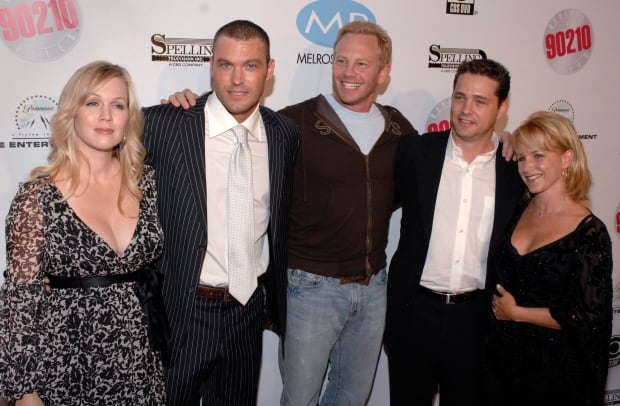 BEVERLY HILLS MELROSE PLACE DVD LAUNCH