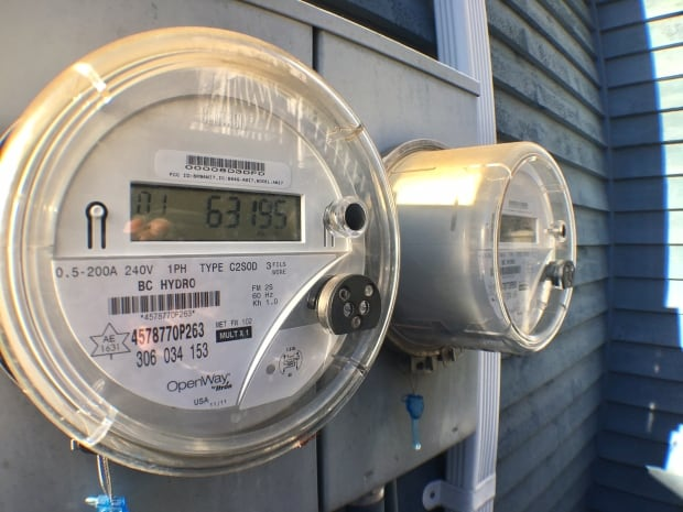 BC Hydro electricity metres