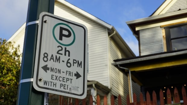 Residential street parking