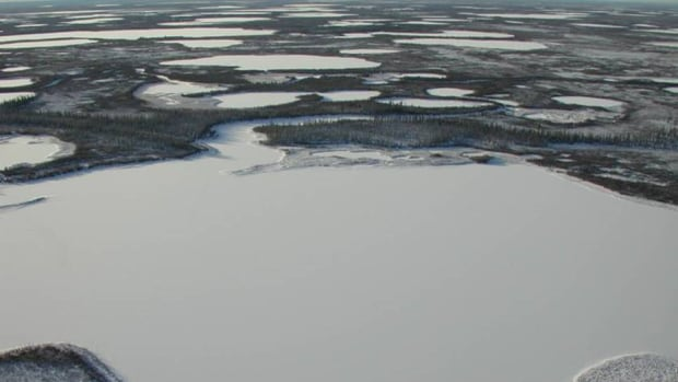 Ice covered lakes in Siberia, where ice is melting an average of over a day earlier per year, according to the study.