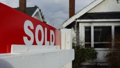 Sold sign in Vancouver Real Estate market