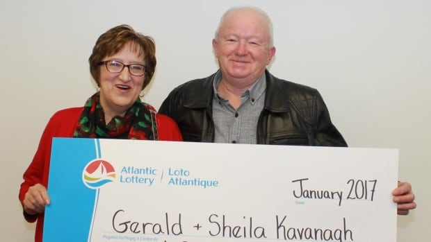 Sheila and Gerald Kavanagh of Calvert, N.L., won $250,000 on a Holiday Riches scratch ticket.